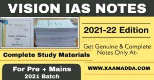 vision ias notes pdf